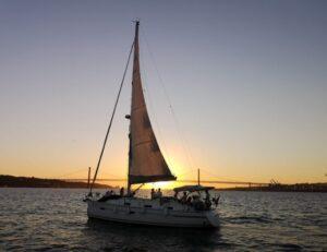 Lisboa de veleiro