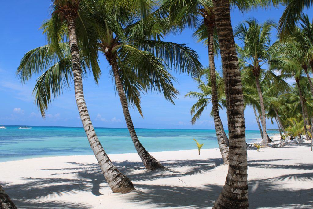 Férias nas praias das Caraíbas